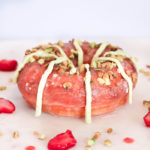 White Chocolate Strawberry Pistachio